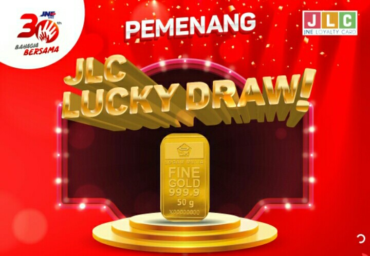 Program JNE Loyalty Card Lucky Draw Banjir Hadiah