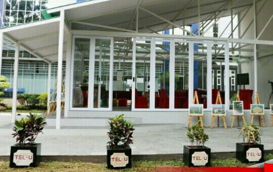 Telkom University Luncurkan Tel-U Green Lounge