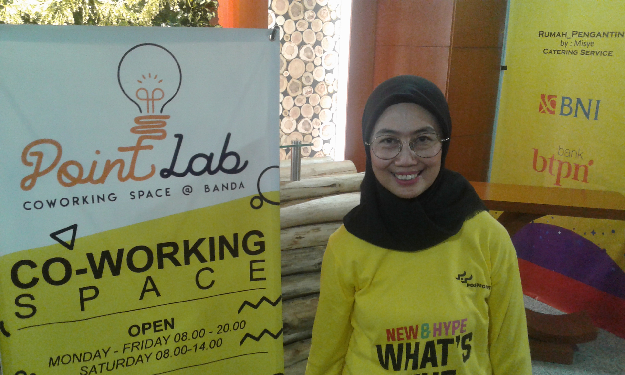 PT Pos Properti Indonesia Luncurkan Point Lab Co-Working Space di Bandung