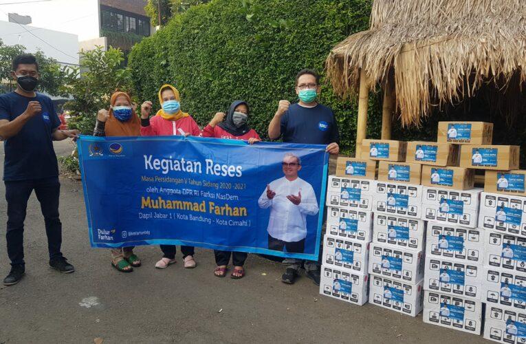 HM Farhan Pantau Dampak PPKM di Bandung dan Cimahi