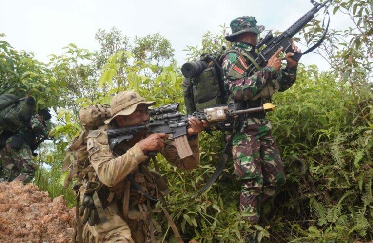 Komandan Kodiklatad Tinjau Pelaksanaan Latma Garuda Shield-15/2021 di Pusat Latihan Tempur Darat Kodam VI/Mlw
