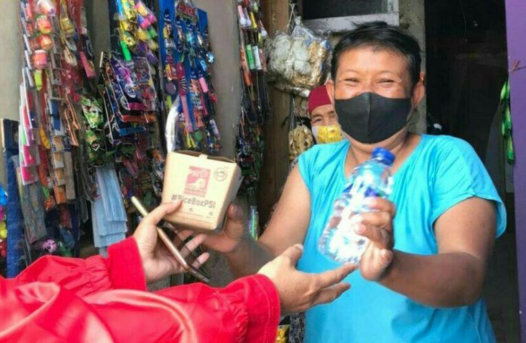PSI Kota Bandung Bagikan Ribuan Rice Box