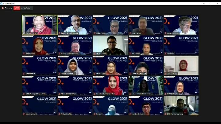 GLOW 2021 Pembelajaran Bertaraf Internasional