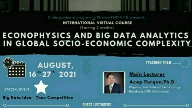 ITB Dorong Riset Ekonofisika dan Big Data untuk Analisis Kompleksitas Dinamika Sosio-ekonomi