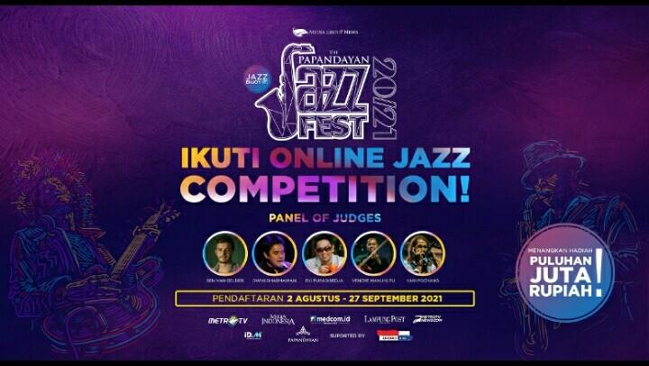 The Papandayan Jazz Fest Gelar Kompetisi Jazz Online