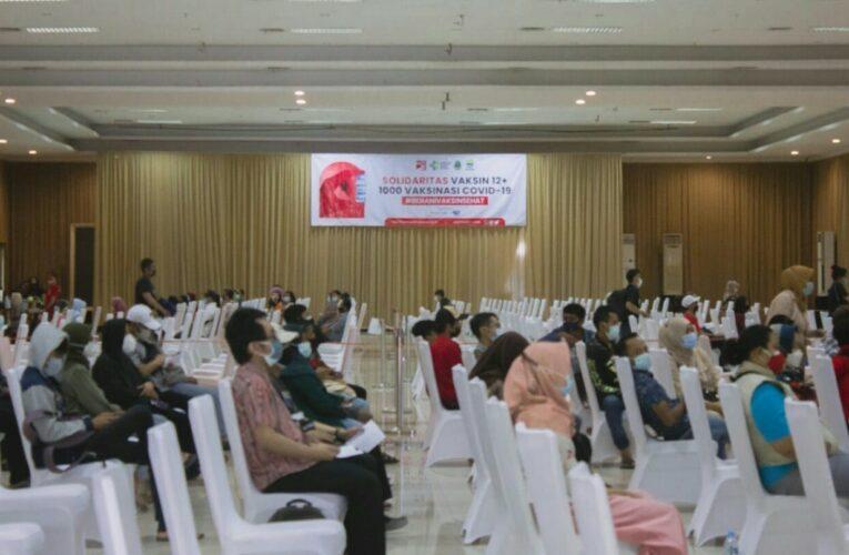 Sambut Hari Jadi Kota Bandung, DPD PSI Kota Bandung Gelar Vaksinasi Kedua