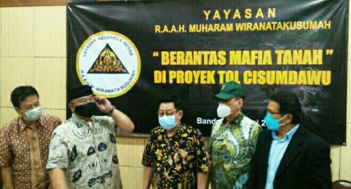 Yayasan R.A.A.H. Muharam Wiranatakusumah Apresiasi Komitmen Presiden RI Berantas Mafia Tanah
