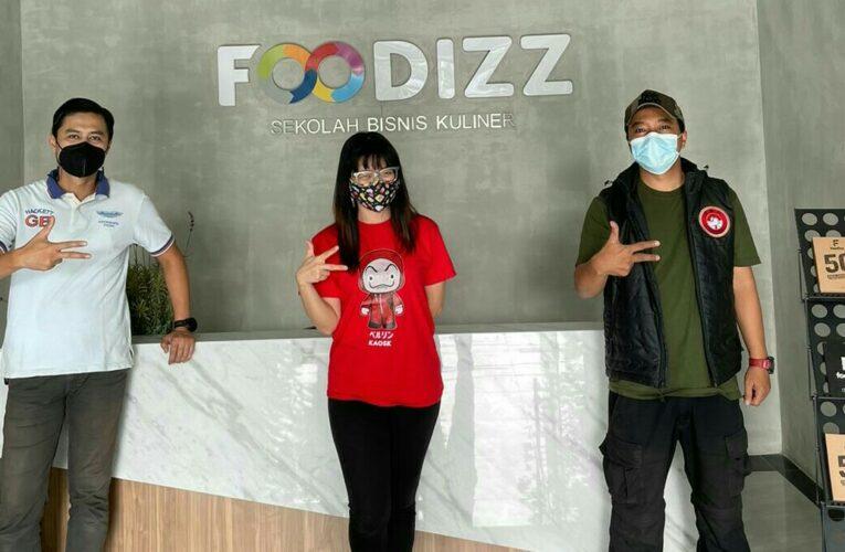 Pengurus Jurnalis Bela Negara Kunjungi Sekolah Bisnis Kuliner Foodizz