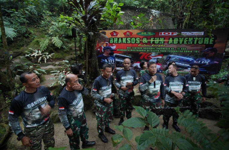 Bro AMP dan Komunitas 4×4 Peringati HUT ke-76 TNI dengan Bakti Sosial