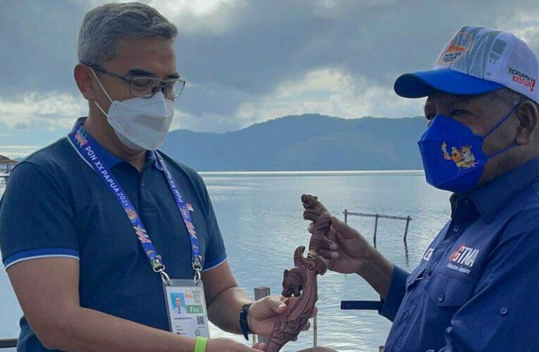 Muhammad Farhan Sampaikan Selamat Pada Kontingen Jabar Selaku Juara Umum PON XX di Papua
