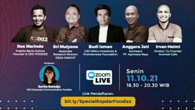 Foodizz Bagikan Apa yang Terjadi di Industri Kuliner Indonesia 2021 dan 2022